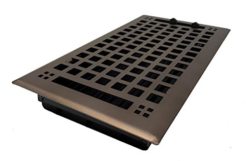 Madelyn Carter Artisan Oil Rubbed Bronze Wall and Floor Vent Covers (Steel) 4