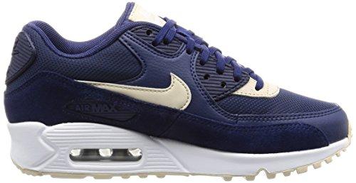 Nike 325213, Zapatillas Mujer Azul (Binary Blue/Oatmeal/White/Mtlc Silver)