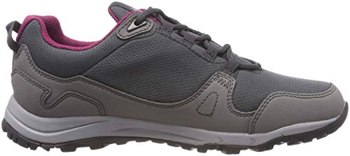 W Rise Low Shoes Amethyst Texapore Hiking Grey Women's 2552 Activate Jack Wolfskin XYqWI