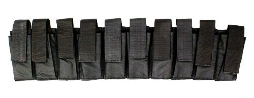 Velocity Airsoft Assault 10 Magazine Tactical Airsoft Pouches (Black) (Cool Air Soft Snipers Rifles compare prices)