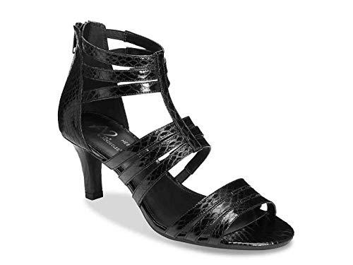 Pastel Sandal, Black Snake, 7 M US ()