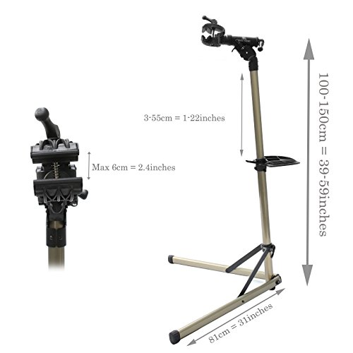 Bikehand Pro Mechanic Bicycle/Bike Repair Rack Stand by Bikehand (Image #7)