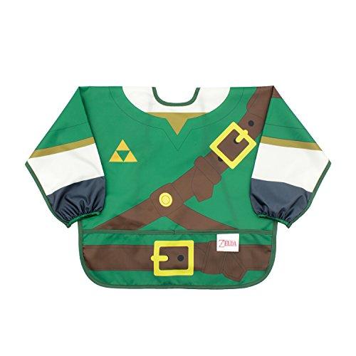 Baby Costume Link (Bumkins Nintendo Costume Sleeved Bib, Zelda, 6-24)