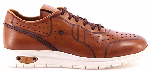 huge selection of 09ce2 94059 Realmente Barato En Línea Roberto Serpentini Scarpe Uomo Sneakers Pelle  Nocciola Light Brown Confort Nuove Venta