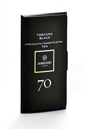 (Amedei Toscano Black 70% Chocolate Bar)