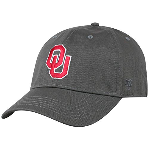 - Top of the World Oklahoma Sooners Men's Fitted Hat Icon, Charcoal, One Fit