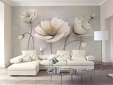 Carta Da Parati Fiori Di Loto : Fiore di loto bianco stereo d carta da parati di sfondo tv