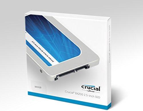 Crucial BX200 - Disco Duro sólido (960 GB, Serial ATA III, 540 MB/s, 2.5