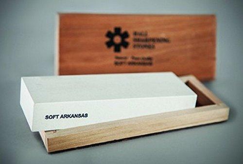 RH Preyda 30005 Soft Arkansas Bench Stone Wood box44; 4 x 2 x 0.5 in. by Rh Preyda (Image #1)
