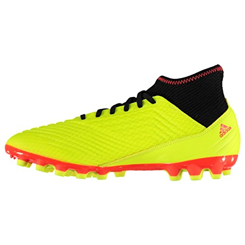 adidas de Football Jaune 3 Predator Chaussures 18 AG Homme YqwnYrxXB1