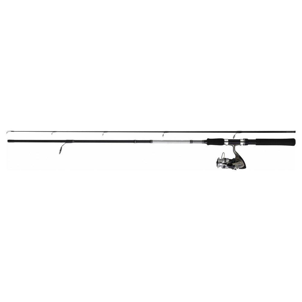 Daiwa–Conjunto de caña Sweepfire + carrete DF giratorio, Especial para tiro de cebo, 2m10 + DF2000A