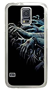 crazy Samsung Galaxy S5 case Hands Zombie Best PC Transparent Custom Samsung Galaxy S5 Case Cover