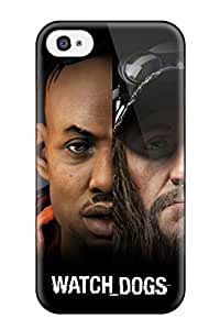 1978635K28908383 New Arrival Premium Iphone 4/4s Case(watch Dogs Banner)