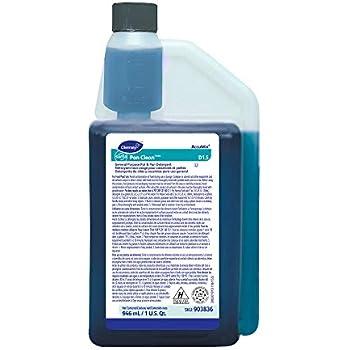 Diversey Suma 903836 Pan-Clean Accumix General Purpose Pot and Pan Detergent, D1.5, 6 x 32 oz./946 mL (Pack of 6)