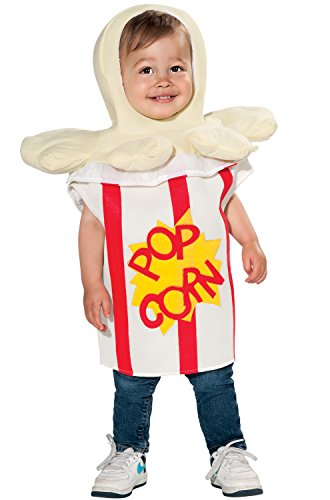 Rubie's Trick Or Treat Sweeties Going' To The Movies Popcorn Costume, White, Infant