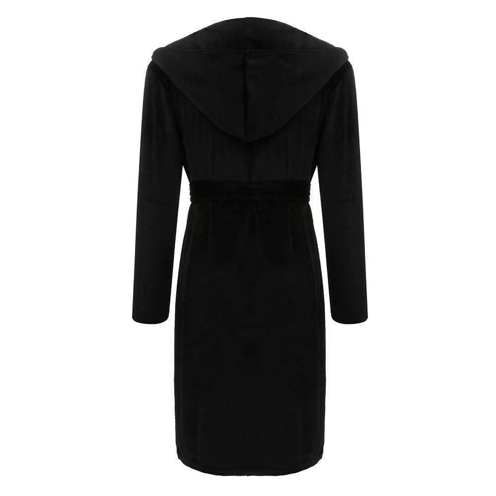 Amazon.com: Clearance Sale! Men Winter Robe,Vanvler Male Bathrobe Lengthened Coralline Plush Shawl Long Sleeved Night Gown Sleepwear Coat: Arts, ...