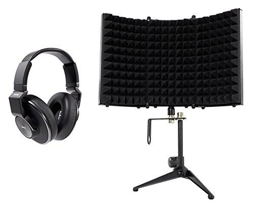AKG K553 MK2 MKII Studio Monitoring Headphones+Recording Foam Isolation -
