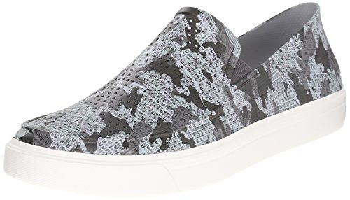 Crocs - Citilane Roka Camo homme Slip-On M Flat, EUR: 41, Graphite/White