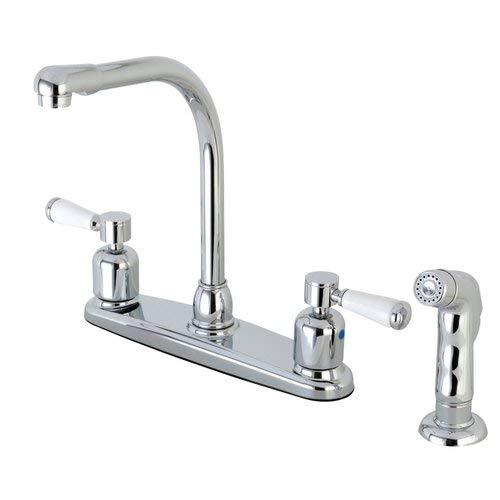 (OKSLO Paris fb751dplsp 8 centerset high-arch spout faucet with poed chrome model x160 )