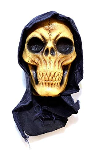 Severed Hanging Reaper Head Halloween Haunted House Decoration