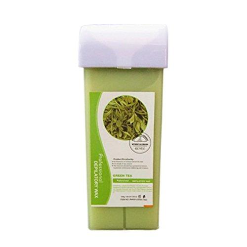 Inkach depilatory Wax Cartridge - Unisex Heater Warm Waxing Hair Removal For Women Bikini Hair J pc4az