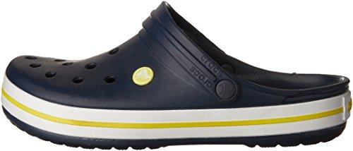 Crocs Crocband Clog, Zuecos con Correa, Unisex azul/amarillo