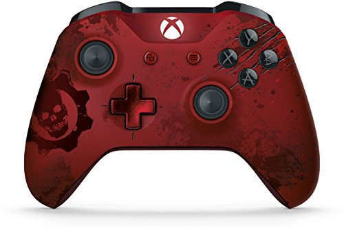 (Xbox Wireless Controller - Gears of War 4 Crimson Omen Limited Edition)
