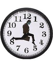Monty Python Inspired Silly Walk Wall Clock ministeriet of Silly Walks Clock Silly Walk Wall Clock ministerium för Silly Walks klocka kreativ väggklocka konstverk