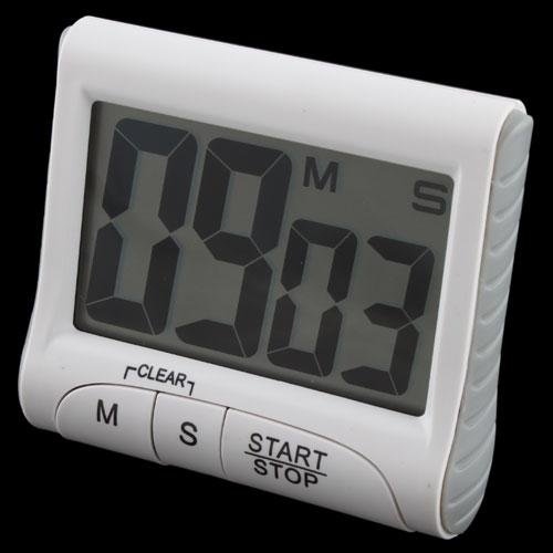 Large Big LCD Digital Count Up Down Kitchen Timer Alarm