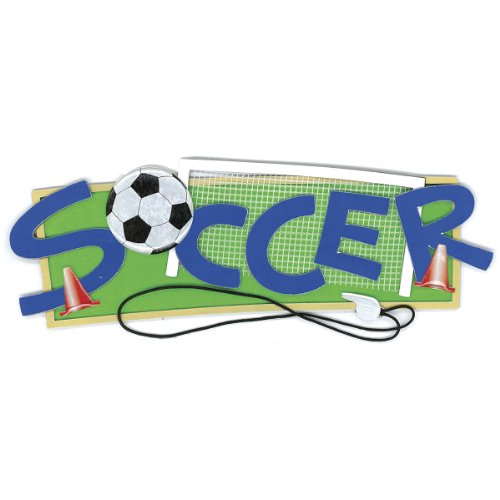 Jolee's Boutique Soccer Dimensional Stickers