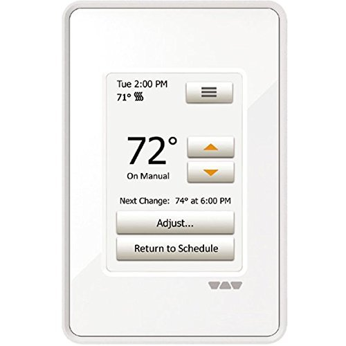 Ditra Heat Touchscreen Programmable Floor Heating Thermostat 120v/240v DITRA-HEAT-E-RT by DITRA-HEAT