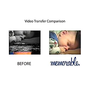 memorable Video Transfer Service (VHS, 8mm, Hi-8, MiniDV) to DVD - 10 Tapes