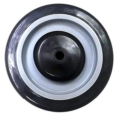 10 EA Shopping Cart Wheel 5 x 1-1//4 Polyurethane Axle Diameter : 3//8 1 EA 10 EA