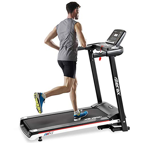 Merax Treadmill Folding Electric Treadmill for Running Easy Assembly Motorized Power Running Machine Fitness