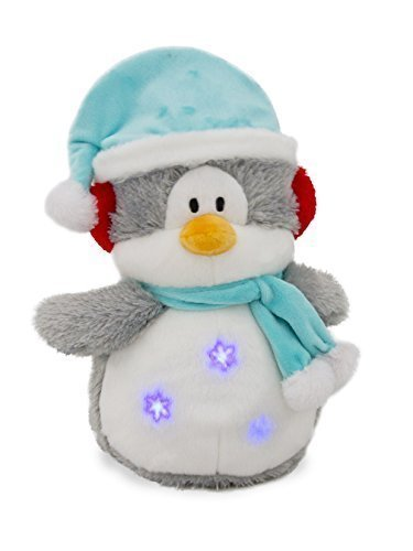 cuddle barns flurry the penguin singing christmas stuffed animal toy sings baby its - Singing Christmas Toys