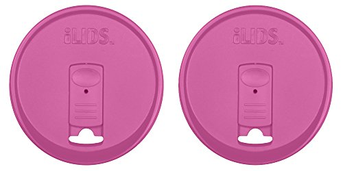 ILIDS Mason Wide Mouth Jar Drink Lid (2 Pack), Mulberry