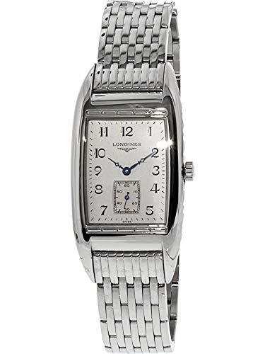 Longines Men's Bellearti L26944736 Silver Stainless-Steel Swiss Quartz Dress Watch - Longines Stainless Steel Wrist Watch