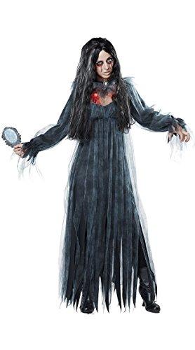 Bar Halloween Juego De Vestido Black Novia white Disfraz Traje Cosplay Xsqr Horror Zombie Mascarada zqdwfFw8
