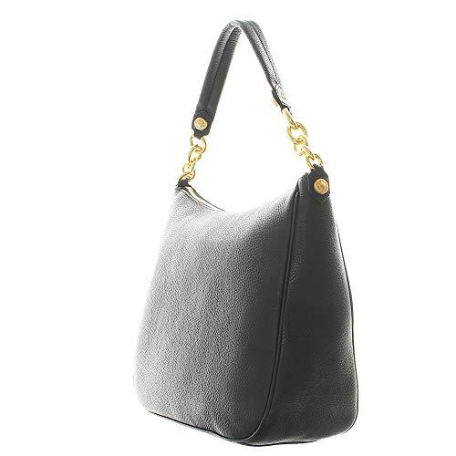 De Asas Negro Furla Mujer 28cm Cuero Para Bolso pqx8wnRzv