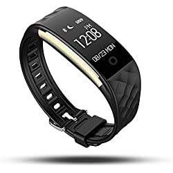 Fitness Tracker,WFCL Waterproof OLED Touch Screen Smart Watch Band with Sleep Monitor,Activity Trackers Pedometer Wristband