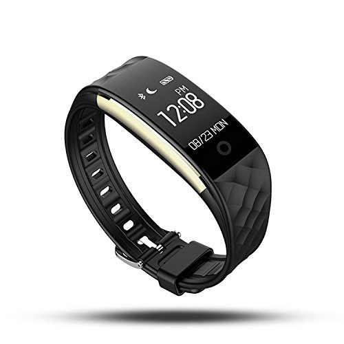 Fitness Tracker,WFCL Waterproof OLED Touch Screen Smart Watch Band with Heart Rate Monitor,Sleep Monitor,Activity Trackers Pedometer Wristband