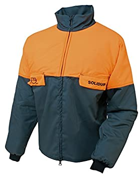 1 L Solidur Coupure Orange De Bûcheron Vert Classe Veste Anti zHRvz1Pw