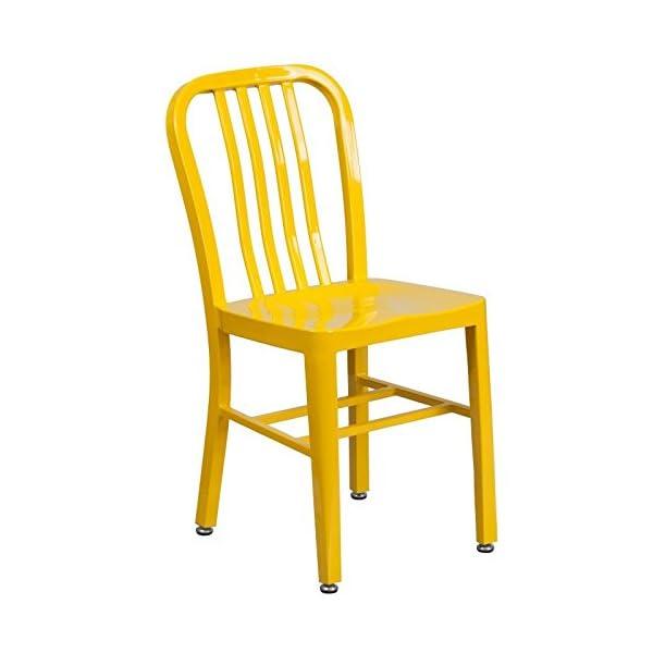 Flash Furniture Metal Indoor-Outdoor Chair