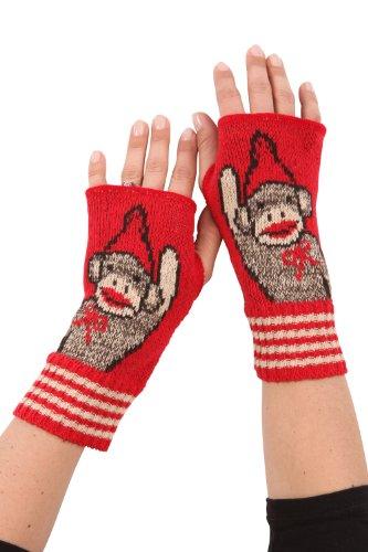 UPC 610079555266, Green 3 Apparel USA made Sock Monkey Hand Warmers