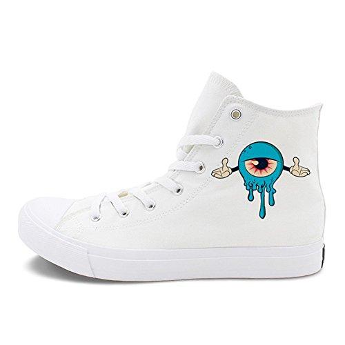Zapatos De Mujer Nuevos Zapatos De Lona De Creative Academy, Zapatos Casuales Neutros De Hip Hop, Zapatos Planos De Mujer con Cordones Un