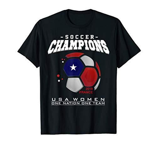 USA T-shirt USA Soccer T-shirt Womens Mens Kids ()