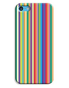 Bright Stripes Case for your iPhone 5C