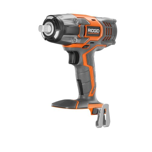 Ridgid R86010B 1/2 in. Impact Wrench (Tool Only) Battery and Charger Not Included
