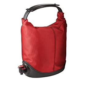 Amazon.com: Dispensador de vino tipo bolsa marca Menu, Rojo ...