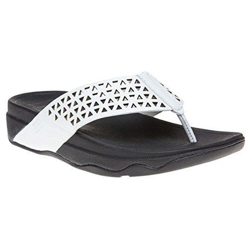 FitFlop Womens Lattice Surfa Slip On Sandal